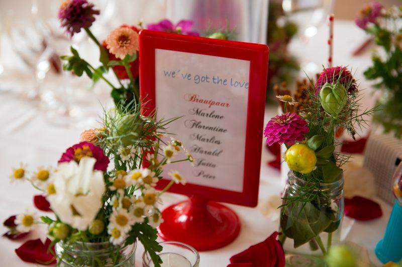Unsere Hochzeit Teil 3: Die Deko