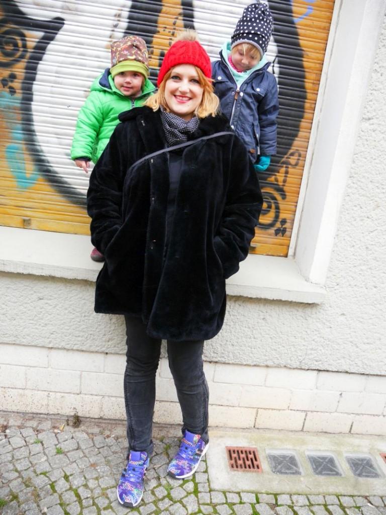 Wir drei. Me Super Mom