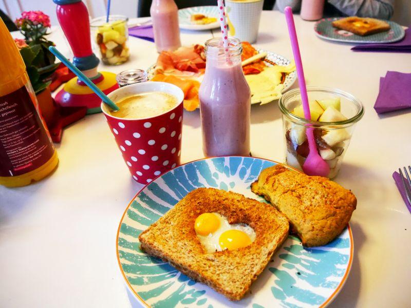 Frühstück á la Zucker, Zimt und Liebe. Me Super Mom