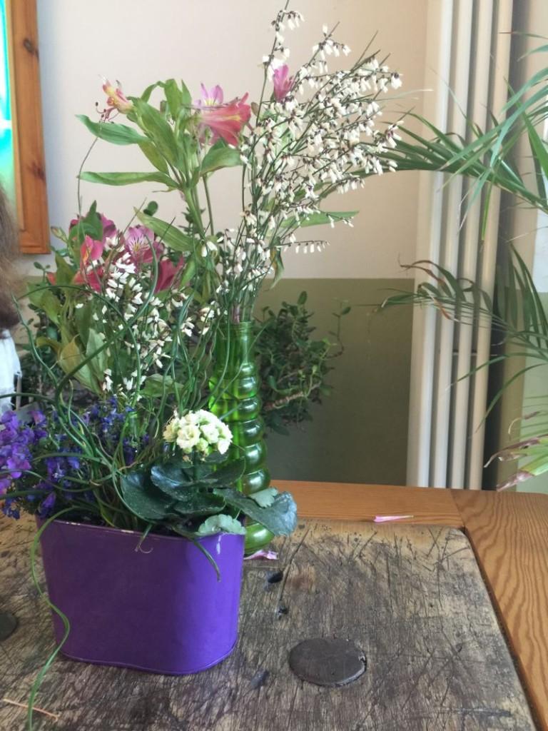 Sonntagsglück mit Blumen // Mesupermom