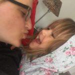 Kuss vom Kind www.mesupermom.de