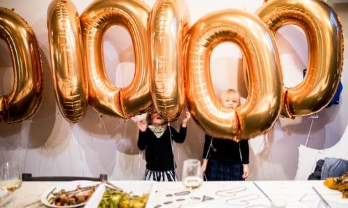 Stokke feiert den 10 Millionsten Tripp Trapp