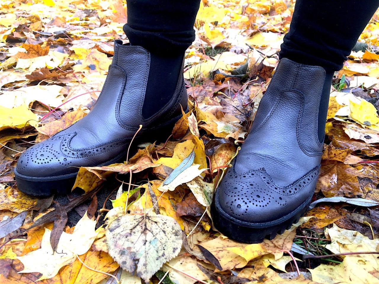 Der Herbst kann kommen, die Füße bleiben warm dank Salamander