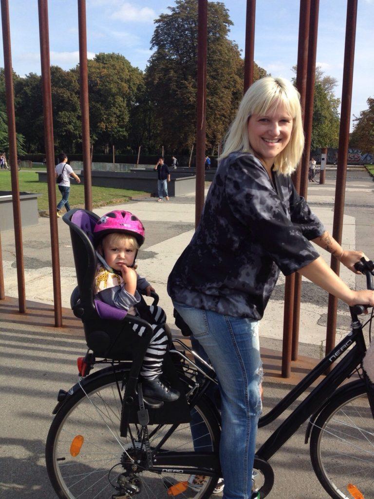 Bernauer Straße Fahrrad Tour www.mesupermom.de