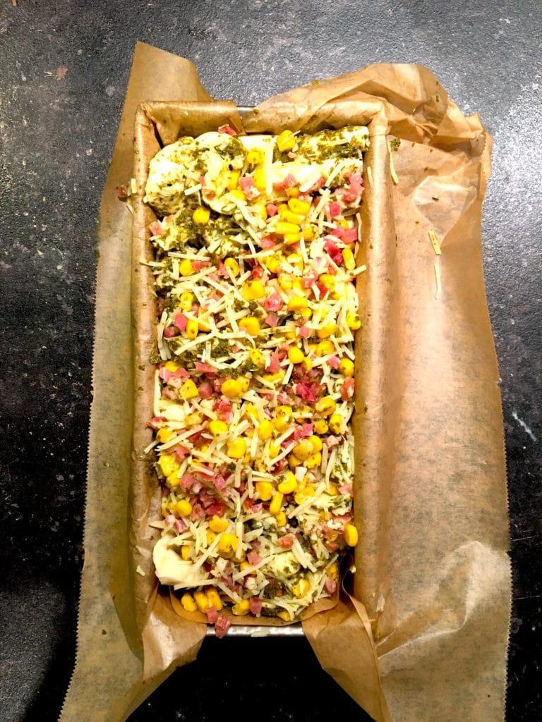 Vorbereitung Pizzabrot www.mesupermom.de