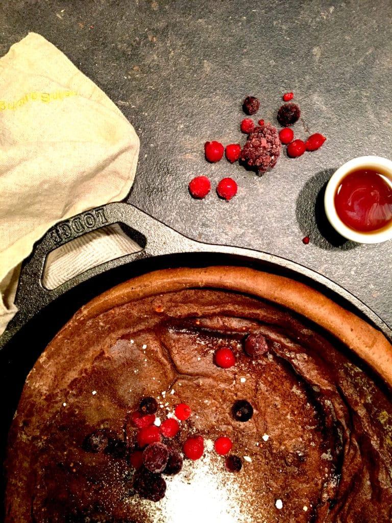 Ofenpfannkuchen mit Beeren www.mesupermom.de