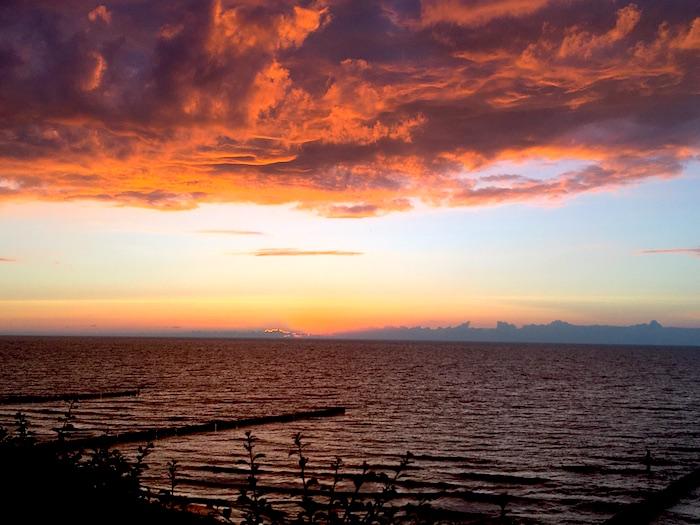 Mamablog-Ostsee-Sonnenuntergang