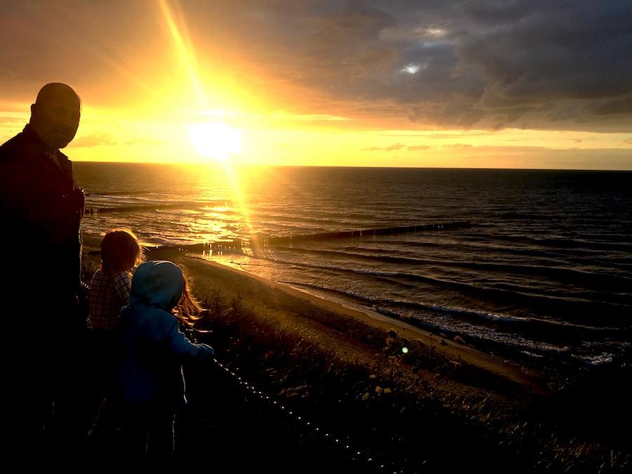 Mamablog-Ostseeurlaub-Sonnenuntergang