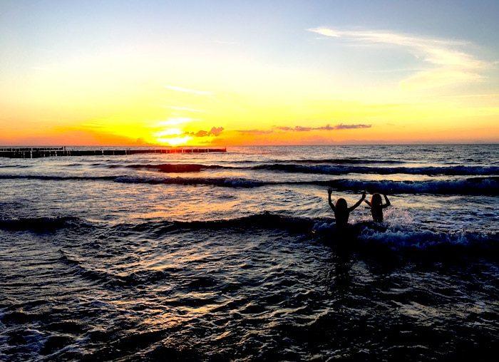 Mamablog-Supermom-Ostsee-Sonnenuntergang