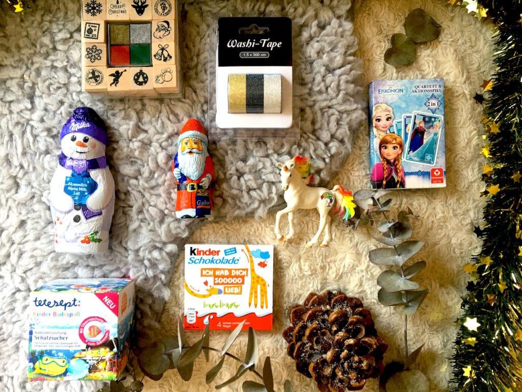 Adventskalender selbst befuellen Auswahl Mamablog Supermom Querformat