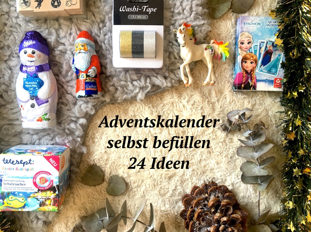 adventskalender selbst bef llen 24 geschenkideen. Black Bedroom Furniture Sets. Home Design Ideas