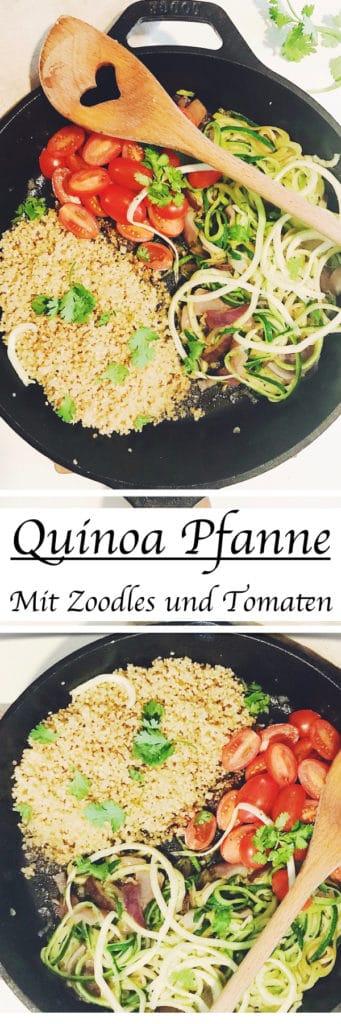 Rezept Quinoa Pfanne