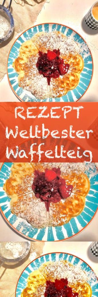 Rezept-Waffel-Teig