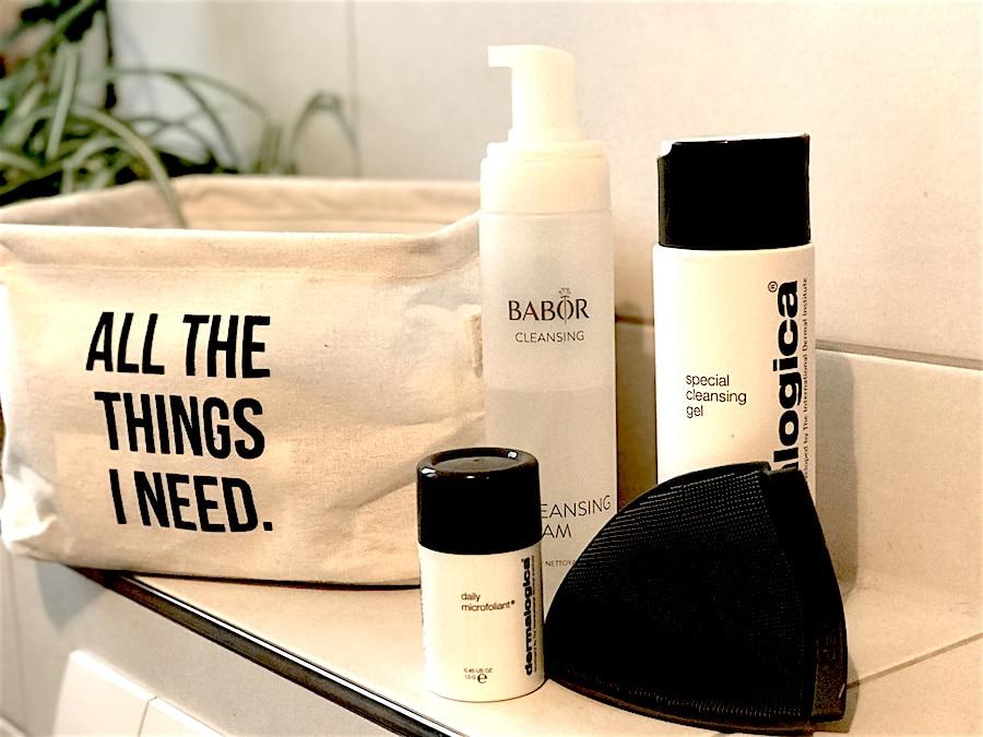 Beauty-Peeling-Maske-Hautpflege