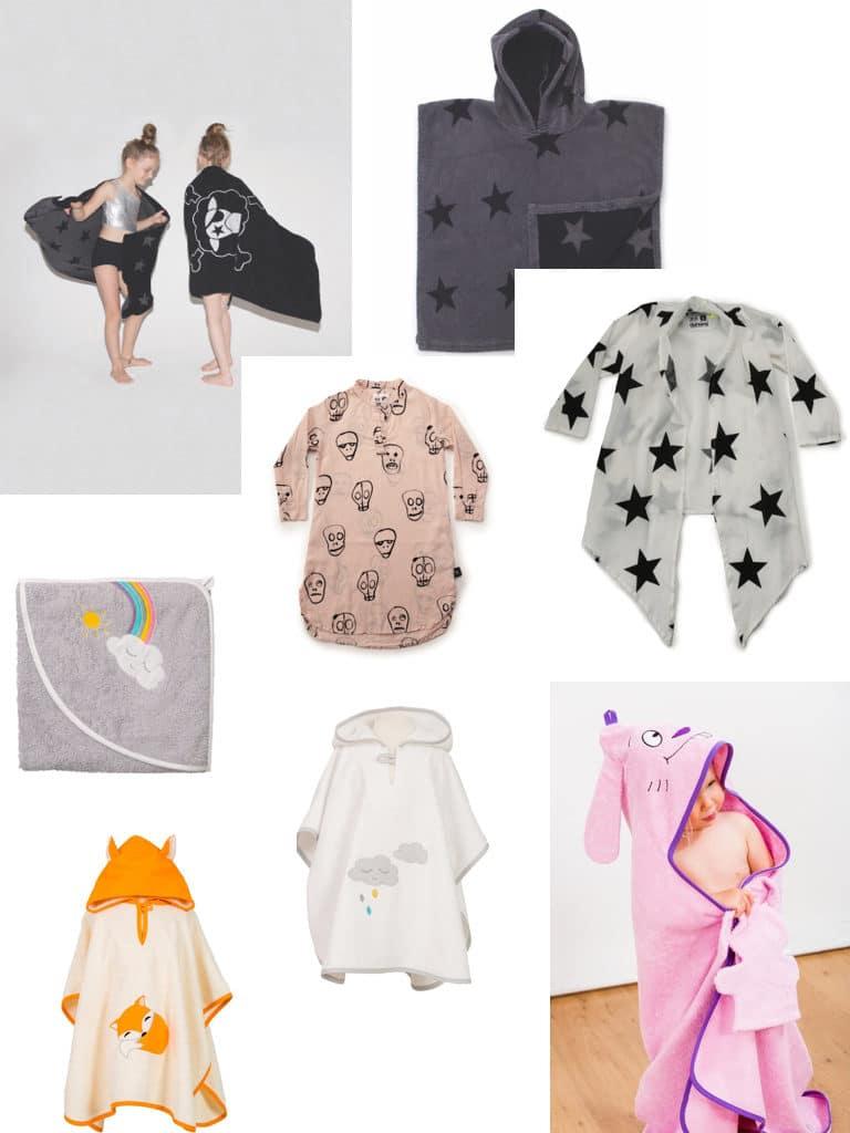 Badebekleidung-Handtuch-Kinderkleidung