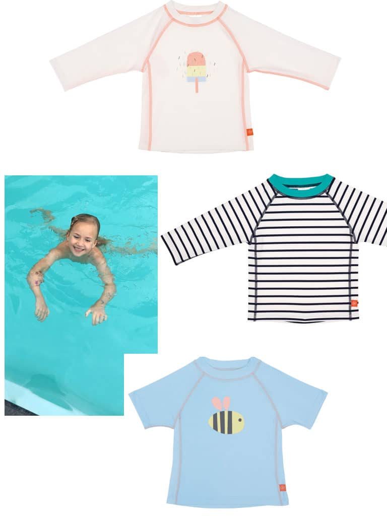 Badebekleidung-UV Schutz-Sommerurlaub-Laessig