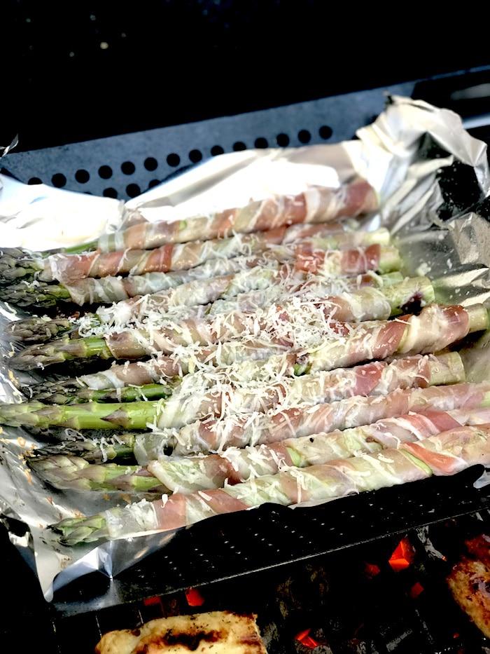 Grillparty-Rezept-grillen-Spargel Speckmantel