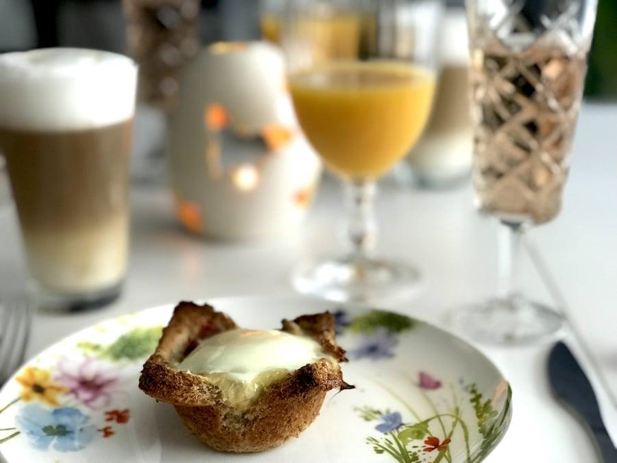 brunch idee muffin aus toast und ei f r das perfekte. Black Bedroom Furniture Sets. Home Design Ideas