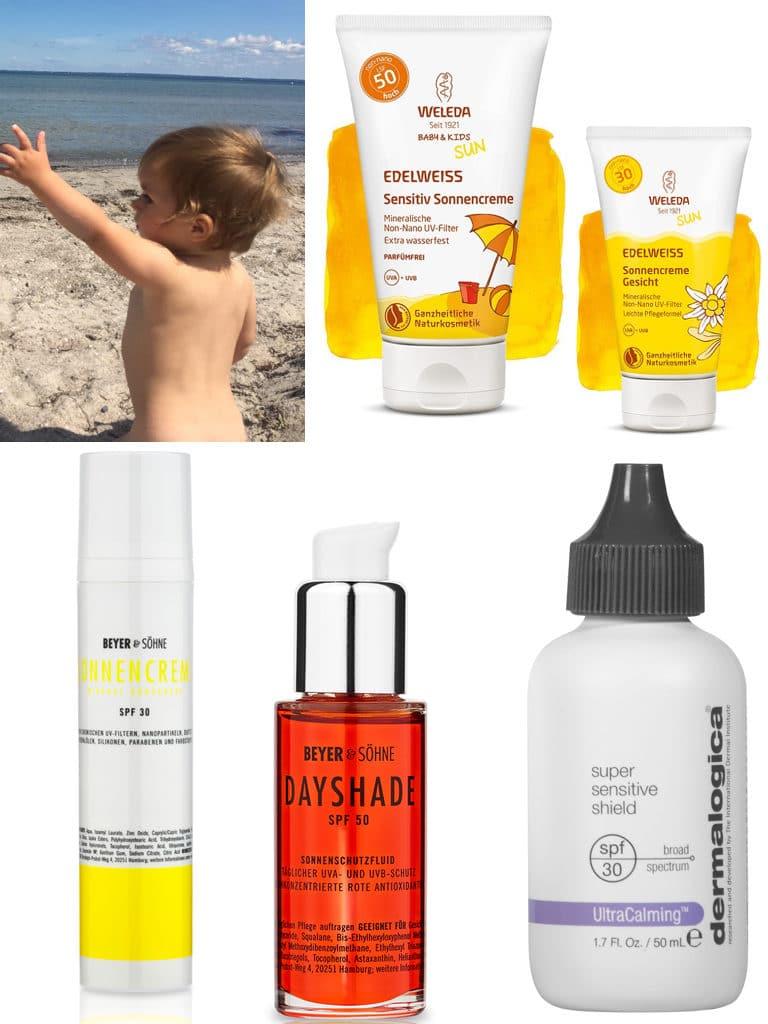 Sonnencreme-Sonnenschutz-Sommerurlaub