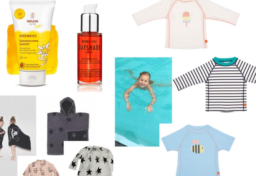 Sommerurlaub, Packliste und die Frage: Welcher Sonnenschutz ist für meine Kinder geeignet?