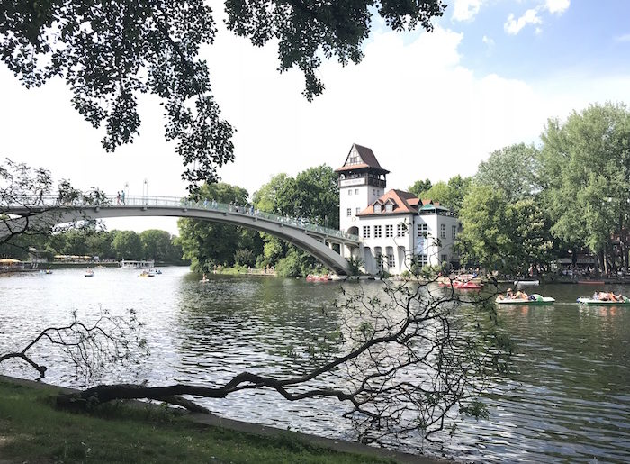Berlin mit Kindern Spree Insel der Jugend Treptower Park