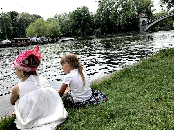 Berlin mit Kindern Spreeblick Insel