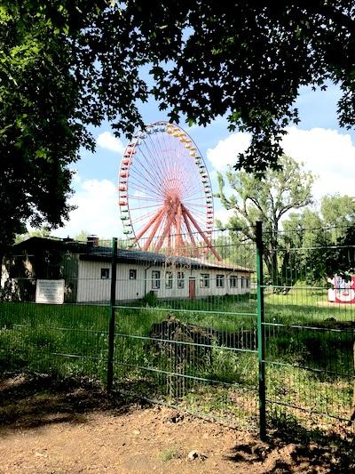Berlin mit Kindern Spreepark Plaenterwald Riesenrad