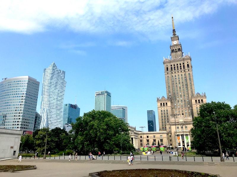 Mamablog-Warschau-Kulturpalast-Skyline