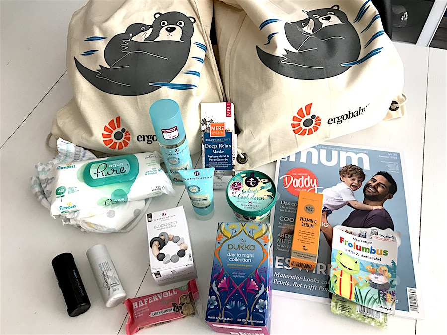 Ergobaby City Walk Super Mom Goodie Bag Gewinnspiel