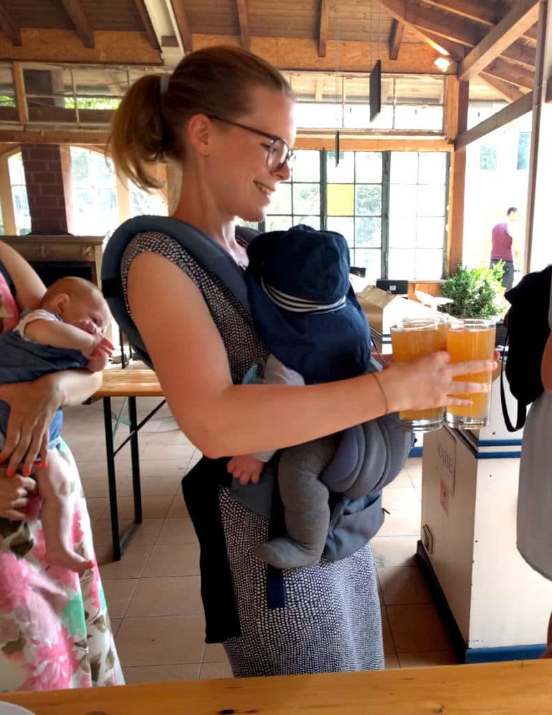 Ergobaby City Walk Super Mom inmyergo