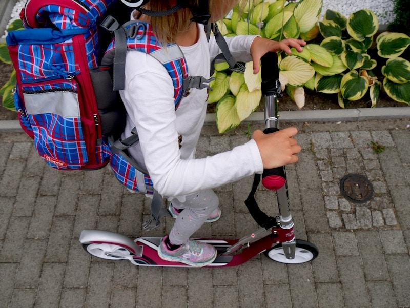 Mamablog-Test-Hudora-Supermom-Roller-scooter