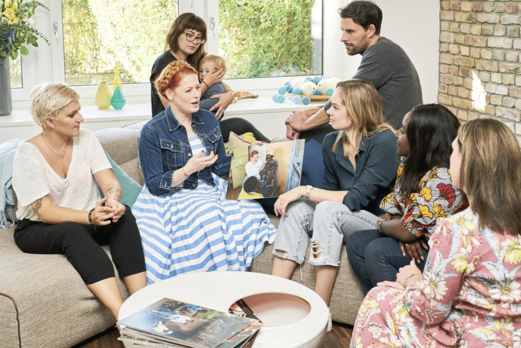 Pampers für UNICEF l Meet & Greet mit Enie van de Maiklokjes
