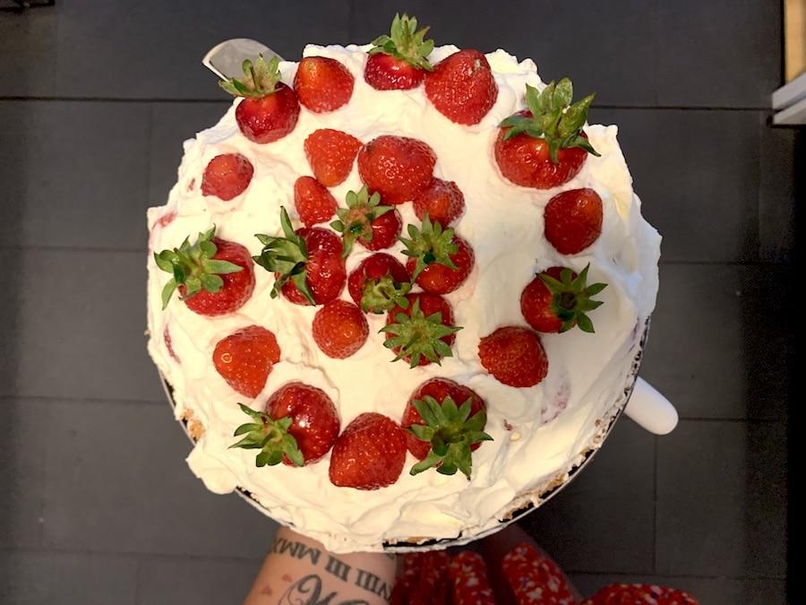 Supermom_Mamablog_Victoria Sponge Erdbeer Torte