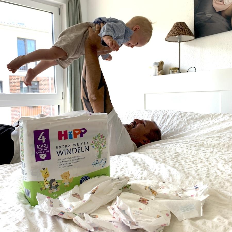 Für euch getestet: Die HiPP Babysanft Produkte