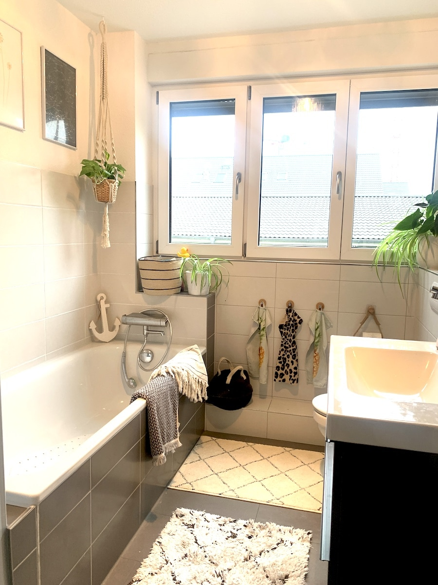 Pimp your Badezimmer // Renovierung für wenig Geld