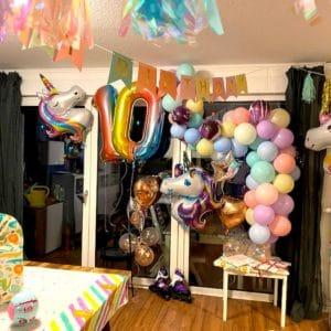 DIY Luftballonkette – Ratz Fatz eine Luftballon Girlande basteln