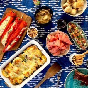 Grillparty: Gefüllte Spitzpaprika und eine kulinarische Überraschung