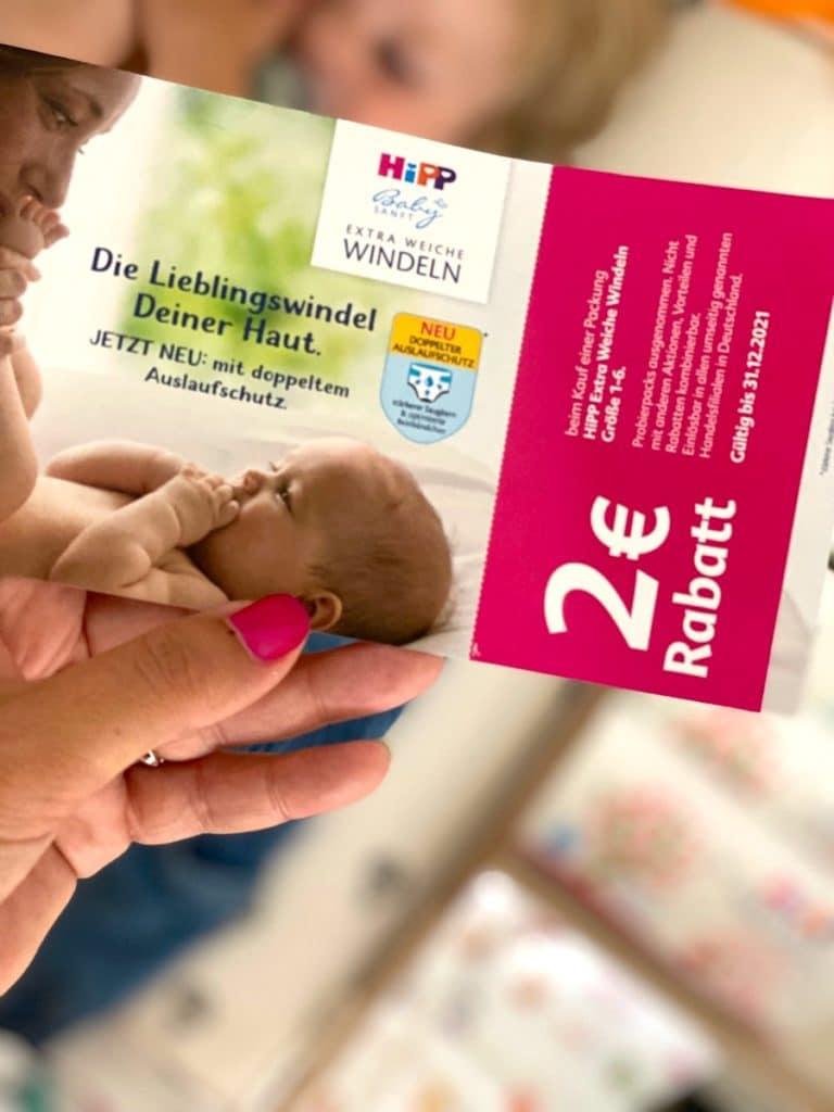 HiPP_Windeln_Feuchttuecher_doppelter Auslaufschutz_Rabatt