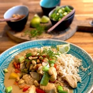 Rezept: Curry neu interpretiert – mit Mango und Mandelmus