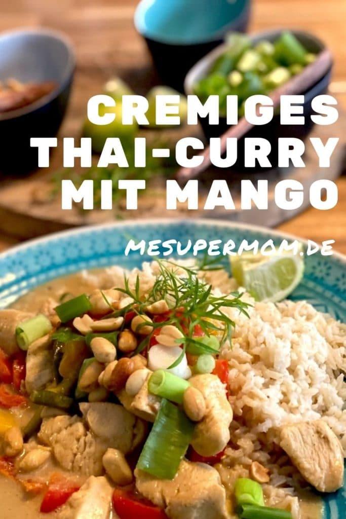 Rezept Thai Curry mit Mango und Mandelmus