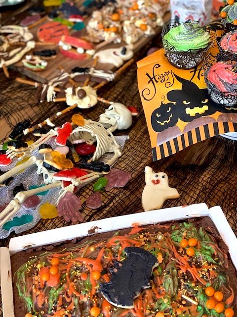 Supermom_Mamablog_Halloween_Brownie Friedhof