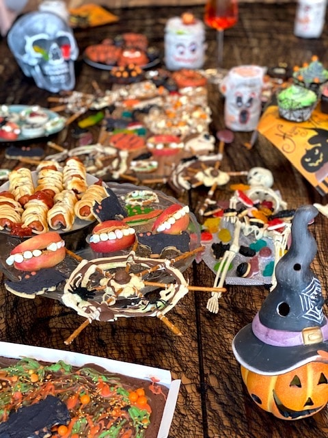 Supermom_Mamablog_Halloween_Buffet fuer Party