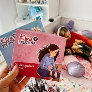 Es gibt was Cooles auf die Ohren: Die neue Hörspielreihe Kira Kolumna